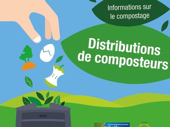 Distribution gratuite de composteur individuel