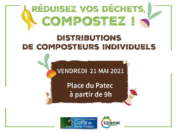 Distribution gratuite de composteurs