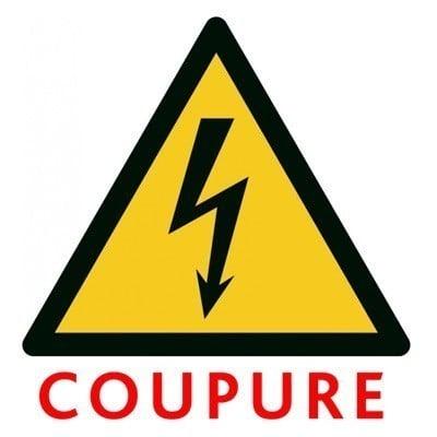 Coupure d'électricité le 28/05/2021